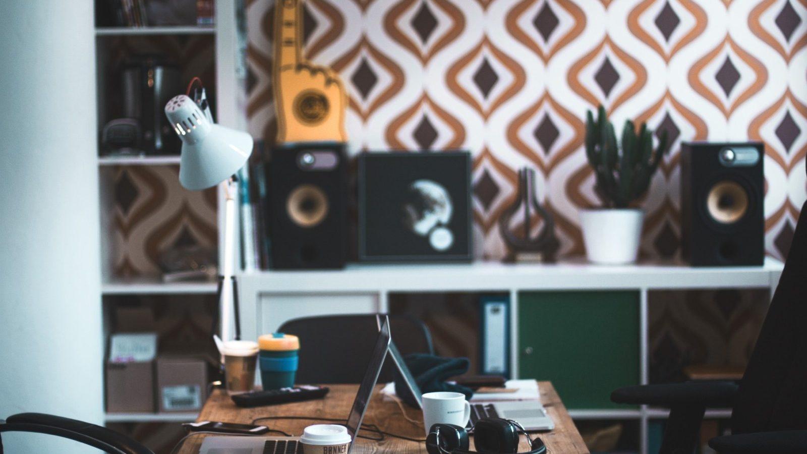 Trabalhar em casa - Home So Simple Escritório em casa